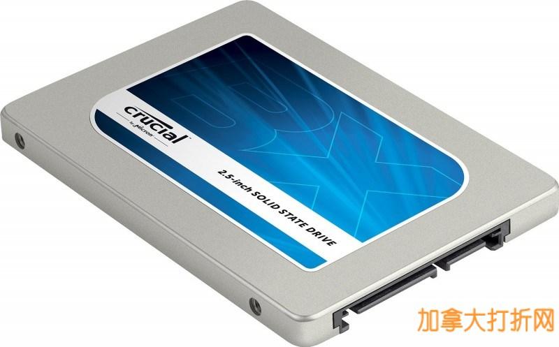 Crucial英睿达BX100 250G 2.5英寸固态硬盘99.99元包邮