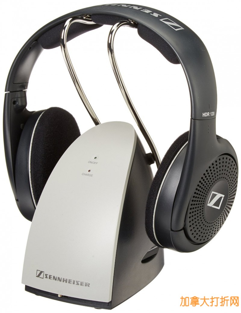 Sennheiser 森海塞尔 RS120 无线头戴式耳机特价79.99元,原价166.99元