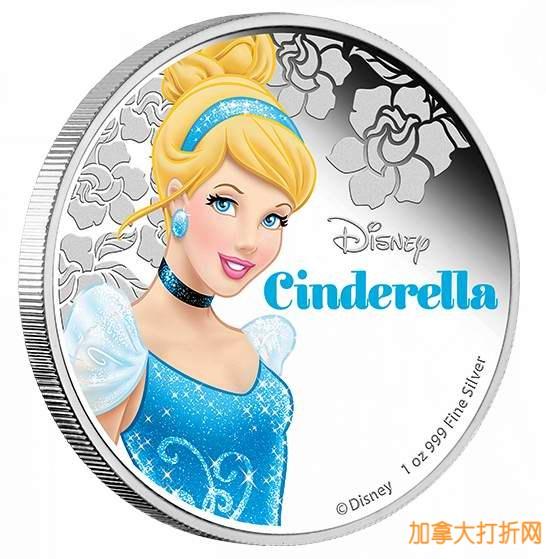 皇家铸币厂网购星期一特卖继续,国际货币金/银制纪念币6.5折起限时特卖!Disney公主系列礼品装纪念币全部6.5折!