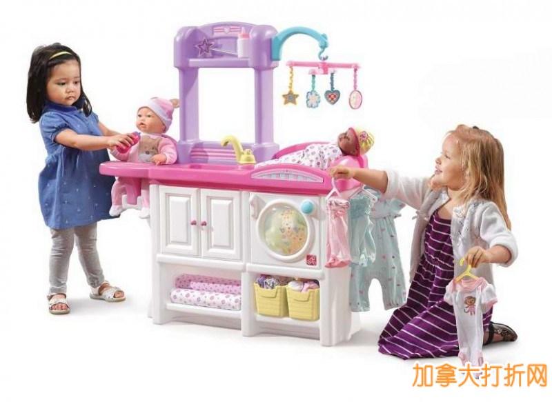 Step 2 Love & Care Deluxe Nursery Play Set 爱与关怀™豪华幼儿园玩具44.99元,原价109.99元,包邮