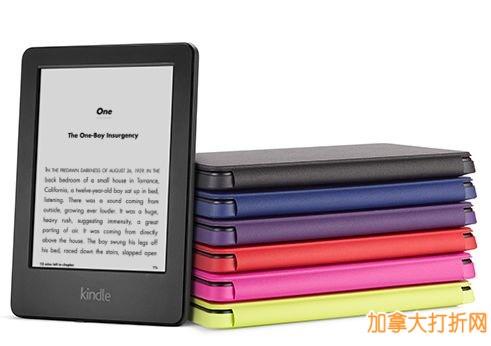 最强6寸电子书!Kindle 6寸 Glare-Free 电子书阅读器64.99元特卖