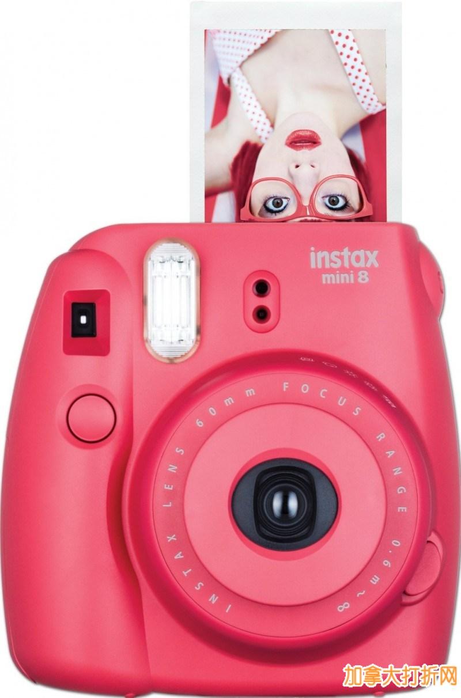 Fujifilm 富士 Instax Mini 8 小巧可爱拍立得热卖69.99元,原价89.99元,包邮