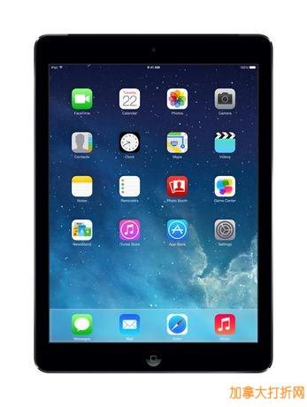 iPad Air Wi-Fi 16GB 平板电脑特卖368元,原价438元,包邮