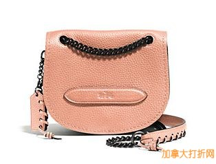 COACH  Pebbled Leather Small Shadow 单肩包特价223.12元,原价350元,包邮