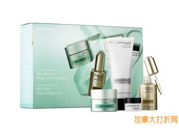 Sephora 最畅销药妆品牌 Algenist 4件套产品额外8折92.8元特卖,原价145元,包邮