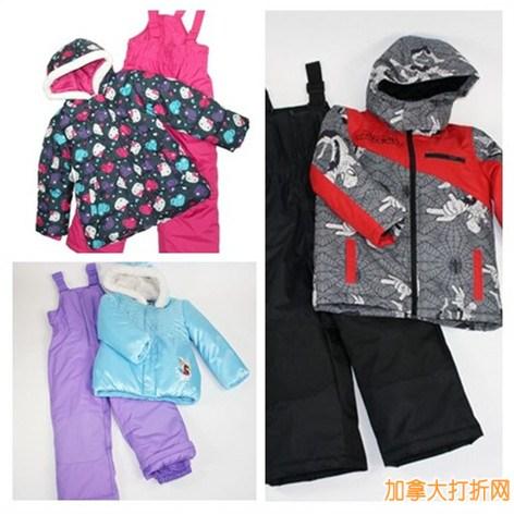 Walmart 儿童冬季服饰清仓特卖,套装最低25元起特卖!