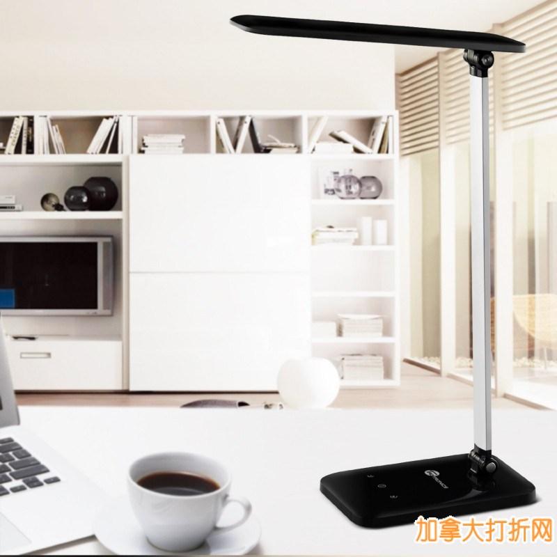 TaoTronics® Elune TT-DL08 6瓦护眼台灯特卖36.99元,原价79.99元,包邮