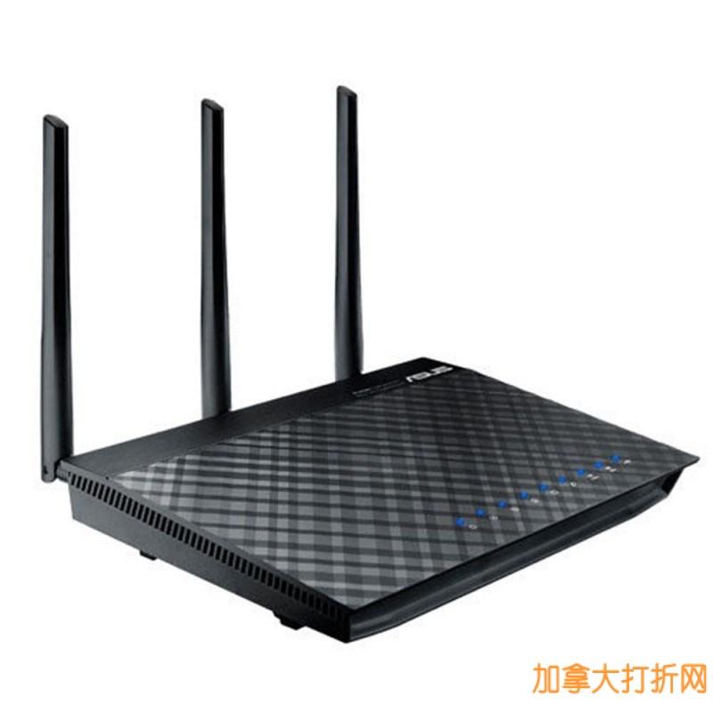 ASUS RT-AC66U 华硕无线路由器特价147.94元,原价239.76元,包邮