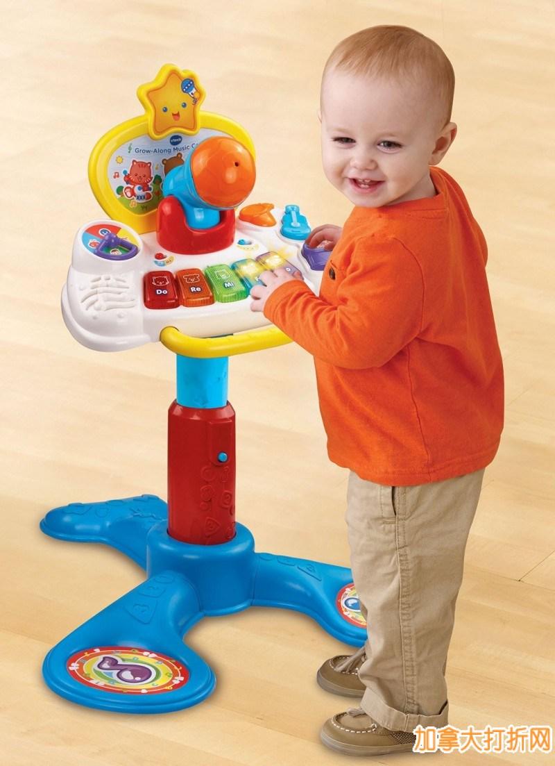 VTech 伟易达 Grow Along Music Center 儿童音乐中心玩具特价17元,原价34.99元