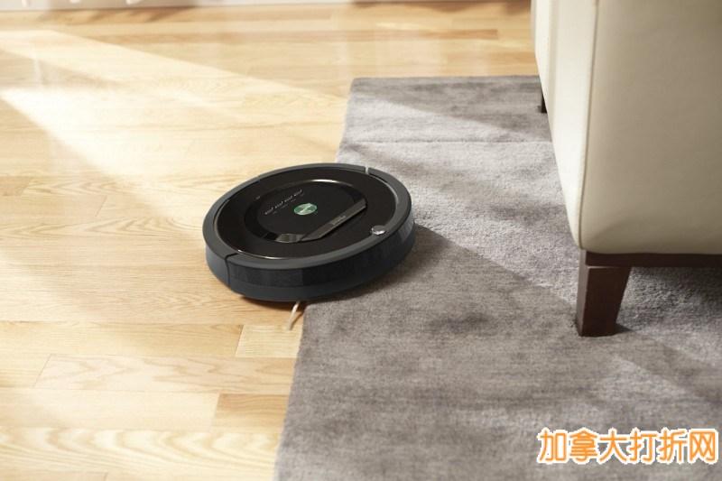 新一代智能机器人吸尘器! iRobot® Roomba® 880 现价699.99元,原价1679.98元,包邮