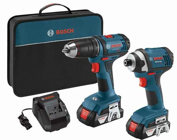 历史新低!Bosch 博世 CLPK26-181 18伏 无绳电钻工具2件套 141.75加元包邮!购买Bosch满149加元额外立省30加元!
