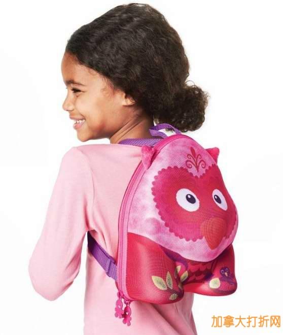 4款学前儿童可爱小书包半价特卖,满24元立减10元!