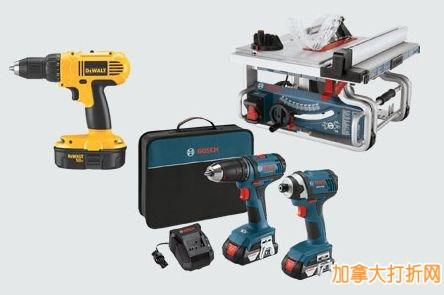 Lowe's指定款电动工具、空气压缩机、工具箱等3.6折限时特卖,新用户满50元立减10元!仅限今日!