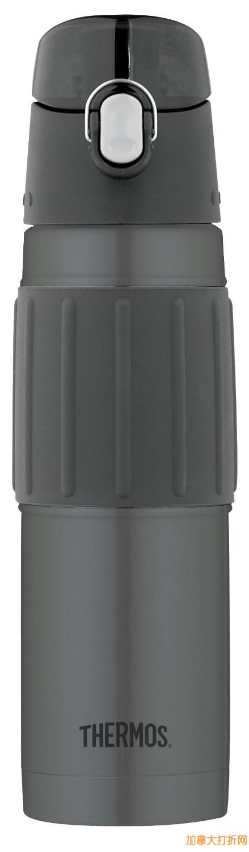 Thermos 膳魔师 2465CHTRI6 18盎司500ml不锈钢真空保温杯15.99元限量特卖!