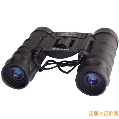 Tasco Essentials 10x 25mm 黑色双筒望远镜13.05元限量特卖!