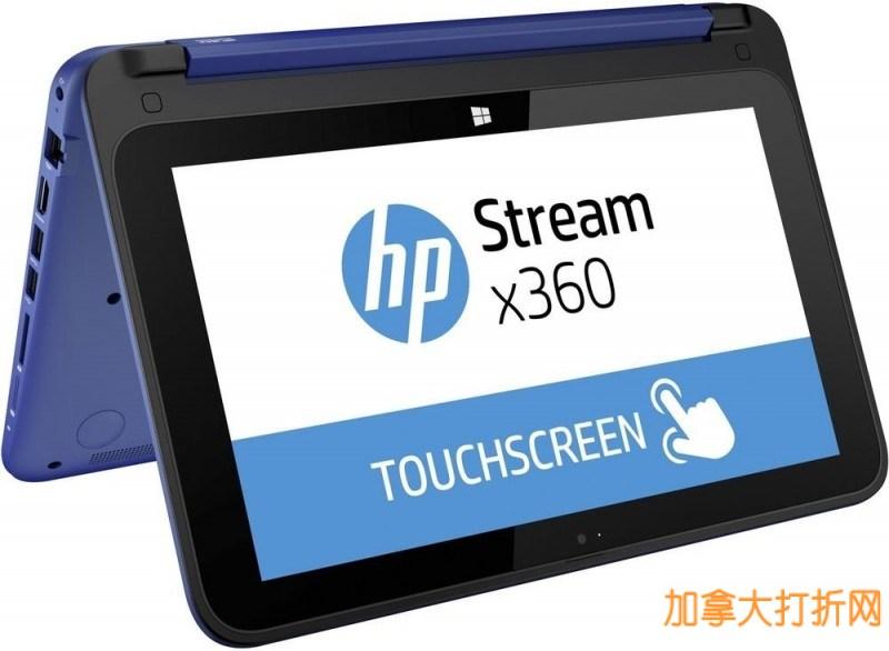 性价比高,平板笔记本二合一!惠普HP K5F87UA#ABL 11.6寸触控屏超级变形本立减90元,269.99元限时特卖!