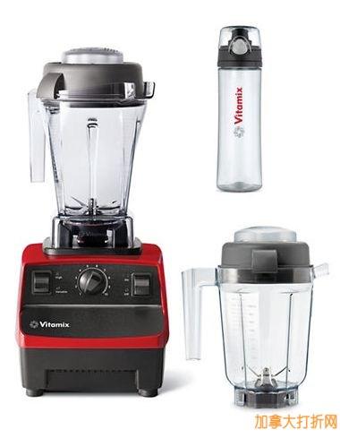 养生法宝,真正破壁!最专业的食物料理机Vitamix Pro200 立减200元,并送谷物干燥器和冰沙杯!可制作全营养果汁、热汤、混合饮料、冷冻甜品、浓汤、磨面粉!