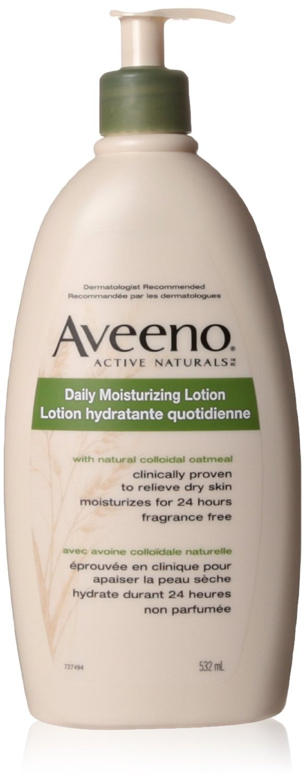 Aveeno 532ml日常保湿乳液特价8.97元,原价11.47元