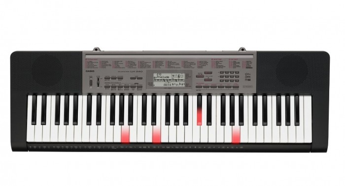 Casio LK-240 卡西欧61键便携式电子琴特价128.3元,原价263.99元,包邮
