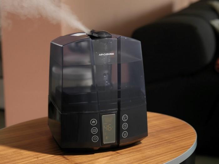 历史最低价!AIR-O-SWISS AOS 7147 超声波冷暖雾静音加湿器6.2折149.99元包邮!