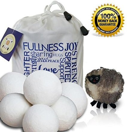 Brio Living  6pcs 纯天然衣物烘干羊毛球 23.95加元,原价30加元