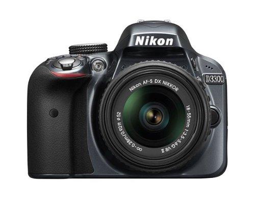 Nikon 尼康D3300 24.2 MP CMOS单反数码相机搭配18-55mm变焦镜头特价409.94元,原价629.95元,包邮