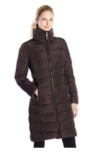 Calvin Klein 女士中长款防寒服特价145元,原价390元,包邮