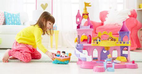 Fisher-Price 费雪牌迪士尼公主音乐跳舞宫玩具特价25元,原价49.94元