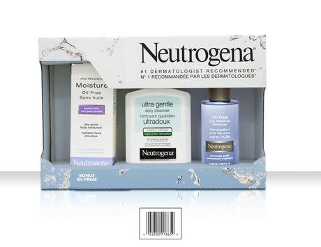 Neutrogena 洁面滋润护肤礼盒装7.49元清仓