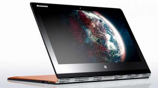 Lenovo 联想电脑冬季特卖! Lenovo Yoga 3 Pro  13.3寸超高清触屏2合一变形超极本银色/橙色款1149特卖,原价1999.99元,包邮