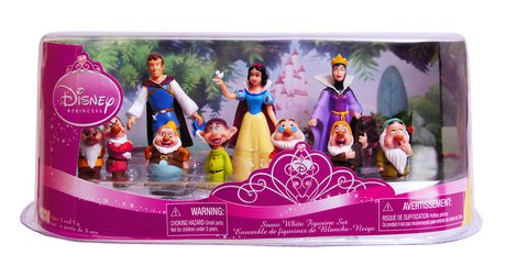 多款Disney迪士尼卡通人物雕像套装全部5元清仓