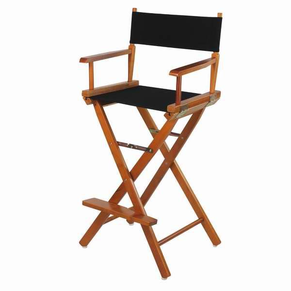 比美国便宜79元!Casual Home 30英寸橡木导演折叠椅2.5折38.89元限时特卖并包邮!
