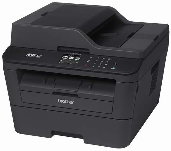 历史新低!Brother 兄弟 MFC-L2740DW 多功能无线激光黑白打印机4.5折 169.99元限时特卖并包邮!