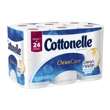 Walmart 多款Cottonelle超软卫生纸5折 5.98元起特卖,另再立减3元!折后12卷只需2.98元!