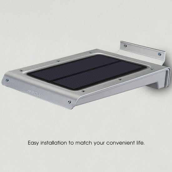 第三代最新款 Mpow 46 LED 超亮防水太阳能感应灯4.1折31.99元限量特卖并包邮!