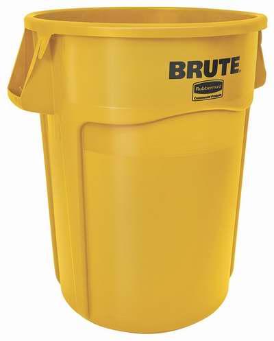 Rubbermaid 乐柏美 Brute 44加仑多用途贮物桶/垃圾桶 50元限时特卖并包邮!