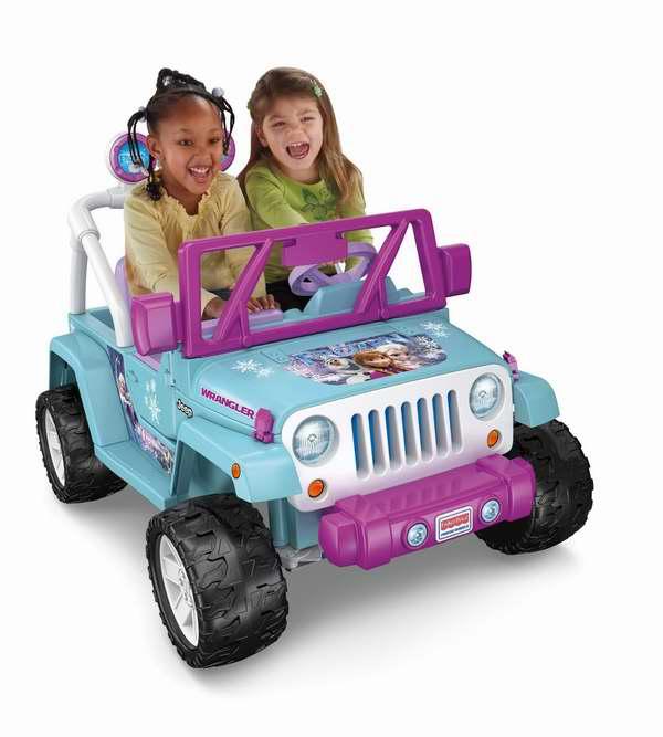 Fisher-Price 费雪 冰雪奇缘主题儿童电动四轮2人座吉普车6.2折 248元限时特卖并包邮!