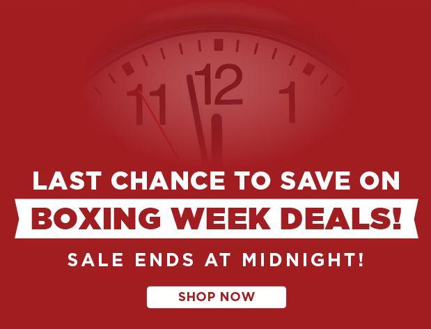 Canon佳能 Boxing Week 节礼周特卖最后一天!指定款单反相机、数码相机、单反镜头、摄像机、打印机等特价销售!