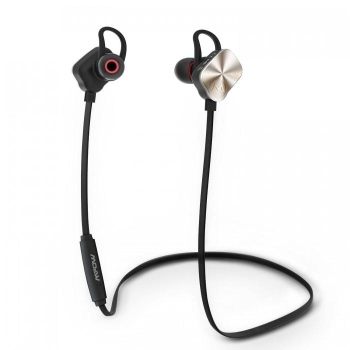 Mpow 磁力蓝牙V4.1无线立体声防汗耳机 21.99元限量特卖,原价 27.59元,包邮