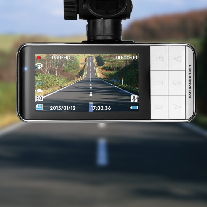 TaoTronics HD 1080P 高清广角夜视行车记录仪 84.99加元限时特卖并包邮!