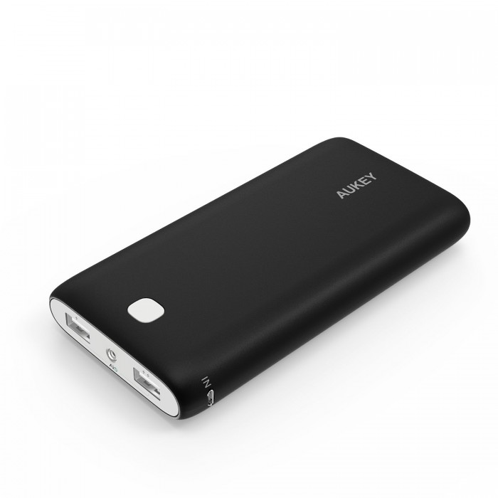 Aukey 20000mAh 双口便携式快速充电移动电源/充电宝 29.99加元限时特卖!