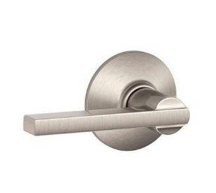 Schlage F10 LAT 619 银色门锁特价26.16元,原价56.11元,包邮