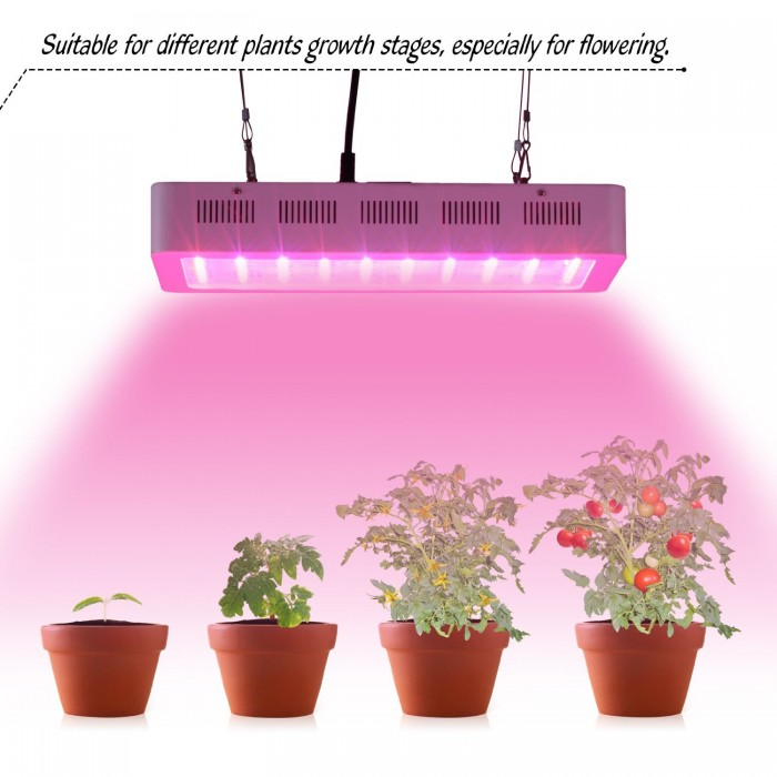Roleadro 300瓦LED节能室内植物生长灯144.49元特卖,原价399.4元,包邮,带紫外线消毒杀菌功能!