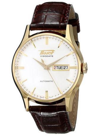 Tissot 天梭男士TIST0194303603101自动机械腕表特价612.53元,原价910.45元,包邮