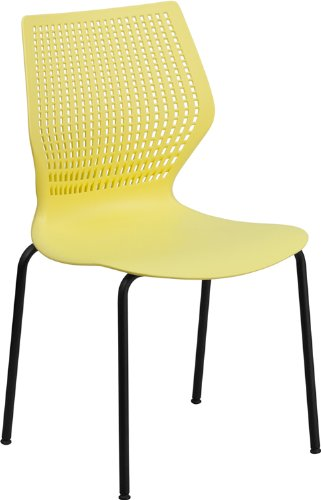 Flash Furniture RUT-358-YL-GG 黄色多用途椅1.6折 18.66元限时特卖!