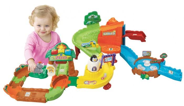 VTech 伟易达 Go! Go! 动物园轨道玩具套装英文版4.6折 22.99元限时特卖!