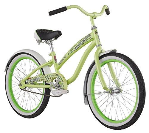 售价大降!Diamondback 2015 Miz Della Cruz 20寸女童绿色自行车3折 83.66加元限时特卖并包邮!