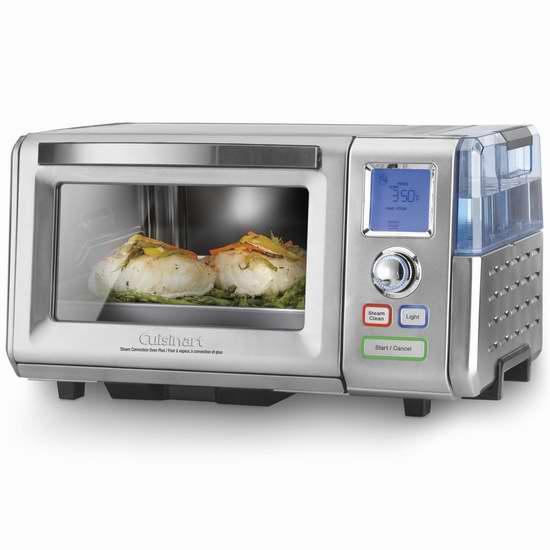 历史新低!Cuisinart CSO-300C 蒸焗炉/对流蒸汽烤箱,带蒸汽自清洁6折 215.99元限时特卖并包邮!
