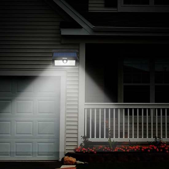 亮度超强!最新款Mpow 20 LED 太阳能防水运动感应灯5.4折26.99元限量特卖并包邮!