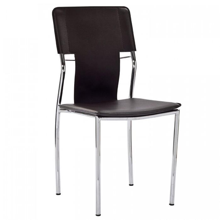 LexMod 黑色人造革椅子1.1折 36.84元限时特卖并包邮!